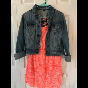 American Eagle dress and jacket